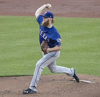 Andrew Cashner - Cashner with the Texas Rangers