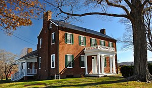 National Register of Historic Places listings in Giles County, Virginia - Image: Andrew Johnston House