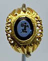 Anello con gemma intagliata con eros, III secolo.jpg