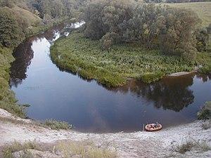 Angrapa River - Angrapa River in Kaliningrad Oblast