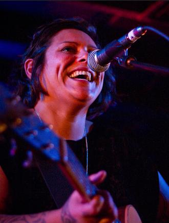 Anika Moa - Anika Moa performing in Wellington, June 2010.