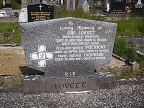 Ann Lovett's resting place in Granard, Co. Longford.JPG