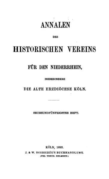 File:Annalen des Historischen Vereins für den Niederrhein 56 (1893).djvu