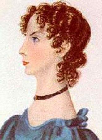 Anne Brontë - Anne Brontë, by Charlotte Brontë, 1834