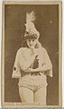 Annie Summerville, from the Actors and Actresses series (N45, Type 8) for Virginia Brights Cigarettes MET DP831626.jpg