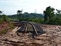 Antigo traçado da ferrovia (Ytuana) em Salto, atualmente projeto turístico Trem Republicano (em construção) - panoramio (15).jpg
