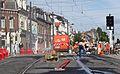 Anzin & Valenciennes - Travaux de raccordement des lignes A & B du tramway de Valenciennes à la Croix d'Anzin le 13 août 2013 (06).JPG