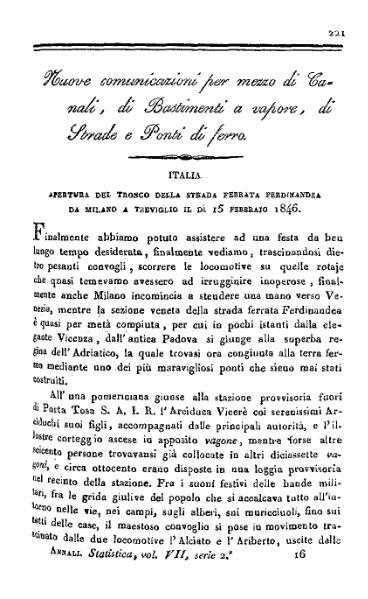 File:Apertura del tronco della strada ferrata Ferdinandea da Milano a Treviglio.djvu