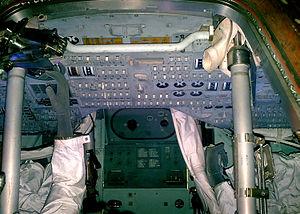 Cosmosphere - Interior view of the Apollo 13 capsule (2009)