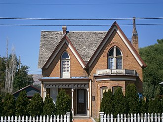 National Register of Historic Places listings in Salt Lake City - Image: Arbuckle House SLC