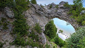 Mackinac Island State Park - Arch Rock, Mackinac Island, 7.26.2014