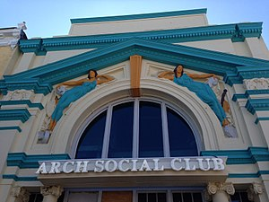 Arch Social Club - Arch Social Clubhouse at 2426 Pennsylvania Avenue, Baltimore