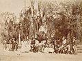 Archivo General de la Nación Argentina 1890 aprox Pericón, Pepe Podestá en fiesta campestre.jpg