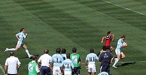 Argentina national rugby sevens team - Argentina playing in San Diego.