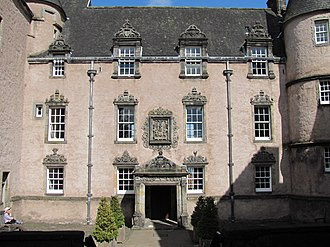 Duke of Argyll - Argyll's Lodging served as the family townhouse in Stirling