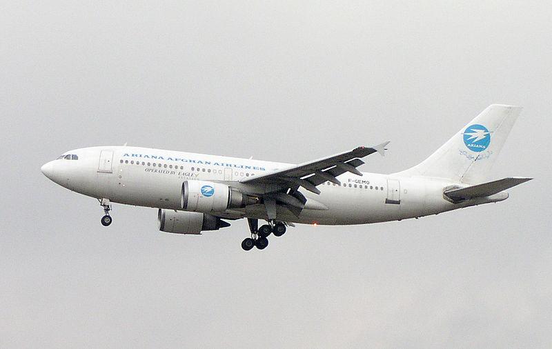 Ariana Afghan A310-300 F-GEMO.jpg