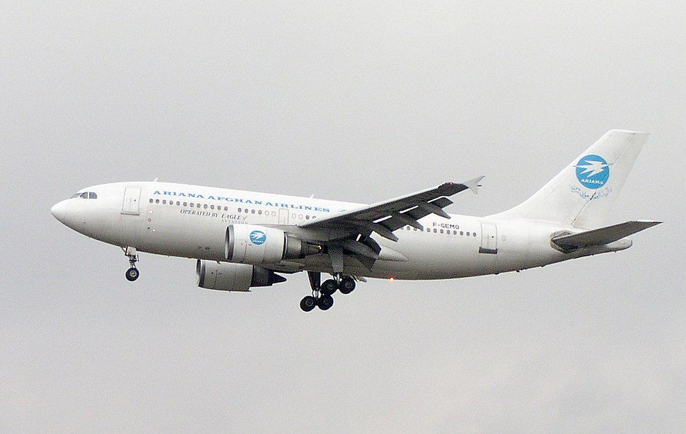 Ariana Afghan A310-300 F-GEMO