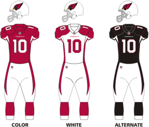 2015 Arizona Cardinals season - Image: Ariz Cardinals uniforms