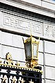 Arlington National Cemetery - lamp on Schley Gate - 2011.jpg