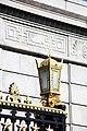Arlington National Cemetery - lamp on Schley Gate - 2011.jpg