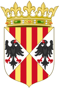 http://upload.wikimedia.org/wikipedia/commons/thumb/8/8e/Arms_of_the_Aragonese_Kings_of_Sicily%28Crowned%29.svg/200px-Arms_of_the_Aragonese_Kings_of_Sicily%28Crowned%29.svg.png