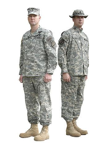 Patrol cap - Image: Army Combat Uniform