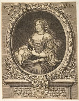 Anna Eleonore of Stolberg-Wernigerode - Image: Arolsen Klebeband 01 303
