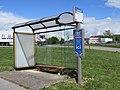 Arrêt de bus « Granges » - Rumilly, printemps 2019.jpg