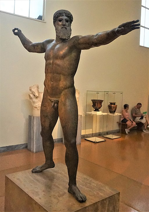 Artemision Bronze - National Archaeological Museum, Athens by Joy of Museum