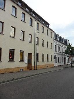 Arthur-Mahler-Straße in Zwenkau