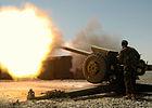 Artilleryman of the Afghan National Army