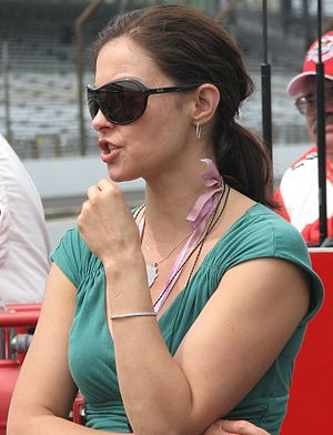 Ashley Judd - Judd at the second day of qualifications for the 2009 Indianapolis 500