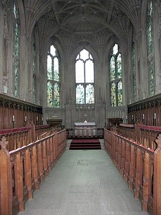 Ashridge - Ashridge chapel