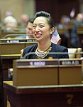 Assemblymember Yuh-Line Niou in Albany