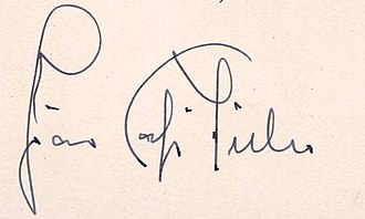 Café Filho - Image: Assinatura presidente Café Filho