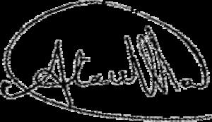 Ata Ullah - Image: Ata Ullah's signature