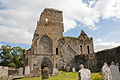 Athassel Priory St. Edmund Choir and South Transept as seen from the Nave 2012 09 05.jpg