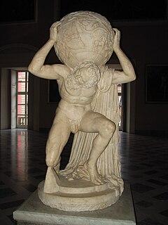 Farnese Atlas Ancient Roman statue of Greek Deity