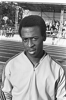 Surinamese athletics competitor