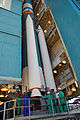 Attachment of one of three solid rocket booster to Aquarius SAC-D Delta II 7320-10C rocket.jpg