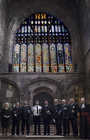 Cathedral constable - Attestation of constables at Chester Cathedral