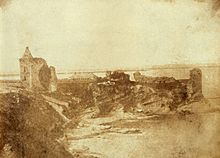 Attributed to Robert Adamson (Scottish - St. Andrews Castle from the East) - Google Art Project - top image.jpg