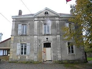 Aubigny-la-Ronce - The Town Hall