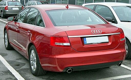 Audi A6 C6 20090221 rear