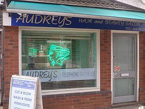 Weatherfield - Image: Audrey's Salon