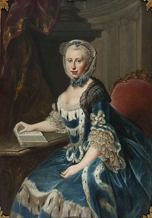 Princess Augusta of Great Britain - Image: Augusta of Great Britain, duchess of Brunswick Wolfenbüttel