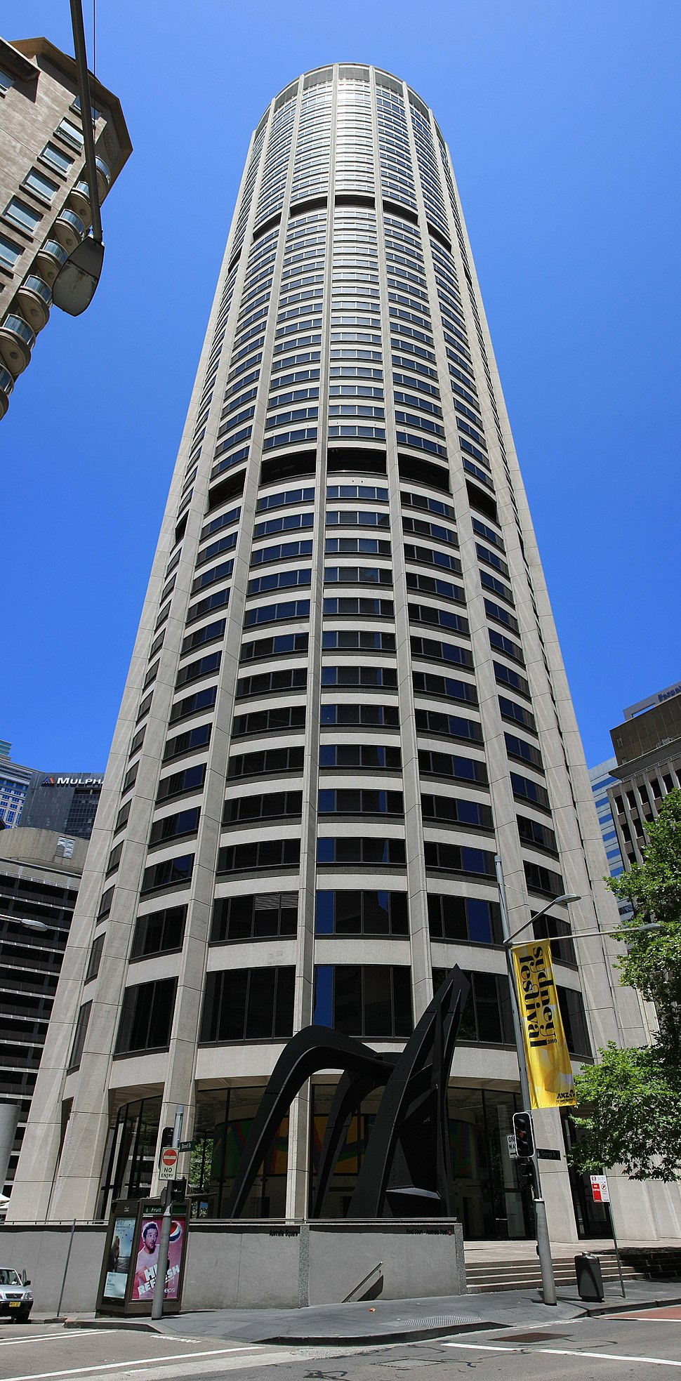Australia Square building in George Street Sydney