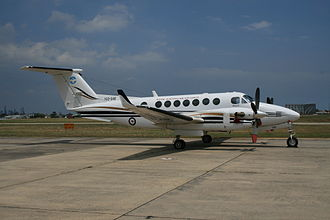 Beechcraft Super King Air - One of eight King Air 350s in service with No. 32 Squadron RAAF