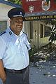 Australian Scholarship recipient Commissioner of Police Ioeru Tokantetaake. Kiribati 2007. Photo- Lorrie Graham (10674955114).jpg