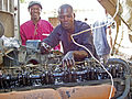 Auto mechanics class at Chawama Youth Resource Centre (5348624275).jpg